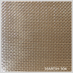 stainless wire mesh s/s 304 mesh 16